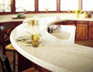 Solid Surface Countertops are customizable.