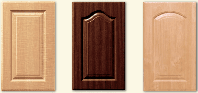 Traditional 5 Piece Cabinet Door with Inset