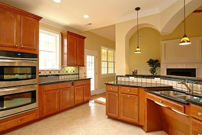 Wheelchair accessible kitchen designs i e cabinets for Accessible home design