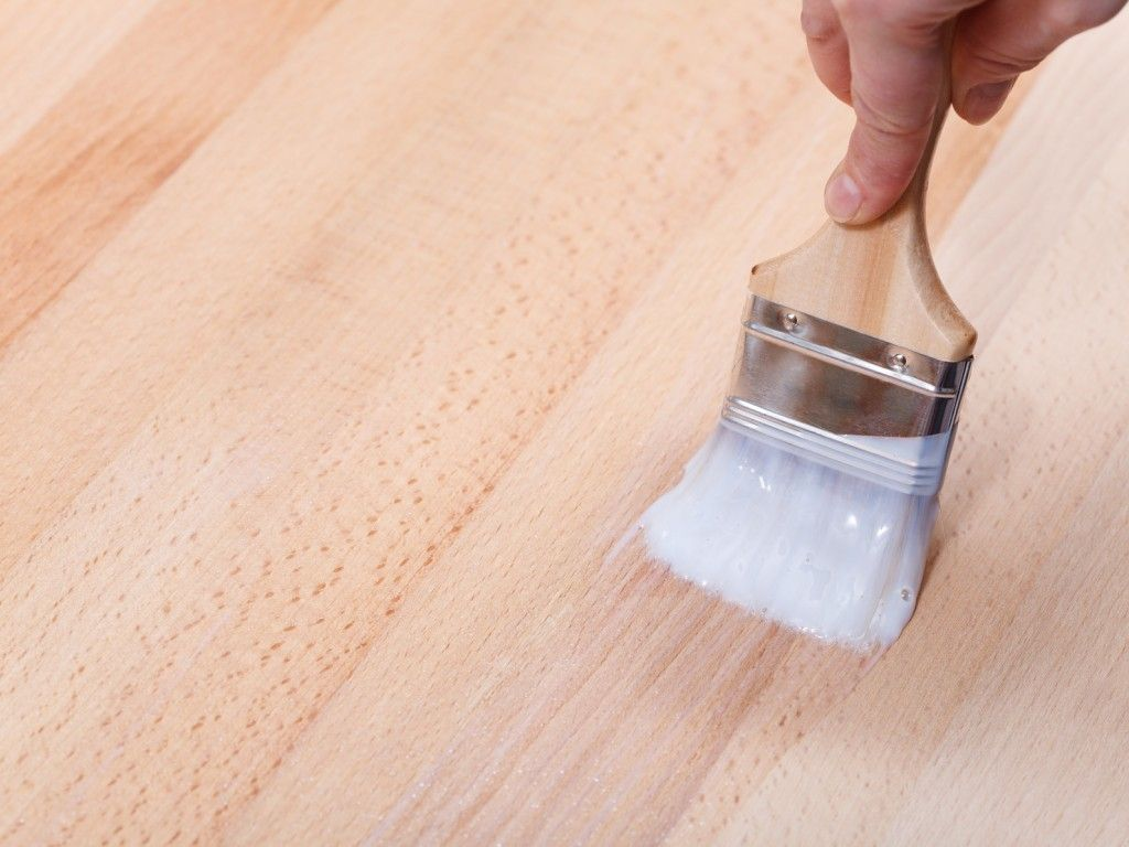 polyurethane wood finishes are clear