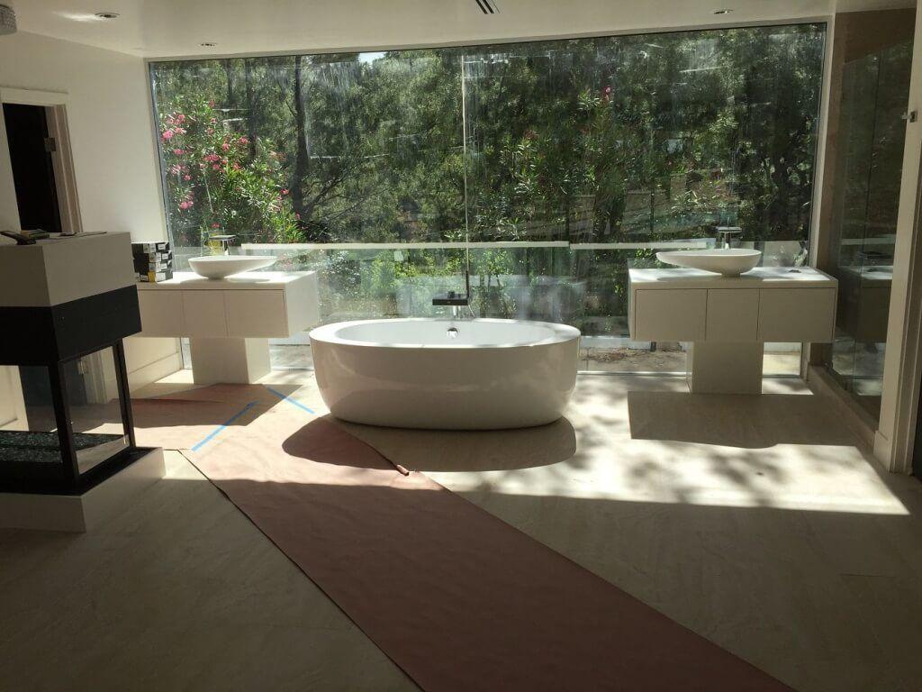 Kitchen remodeling remodel modern bathroom pacoima - Contemporary Bathroom Remodel