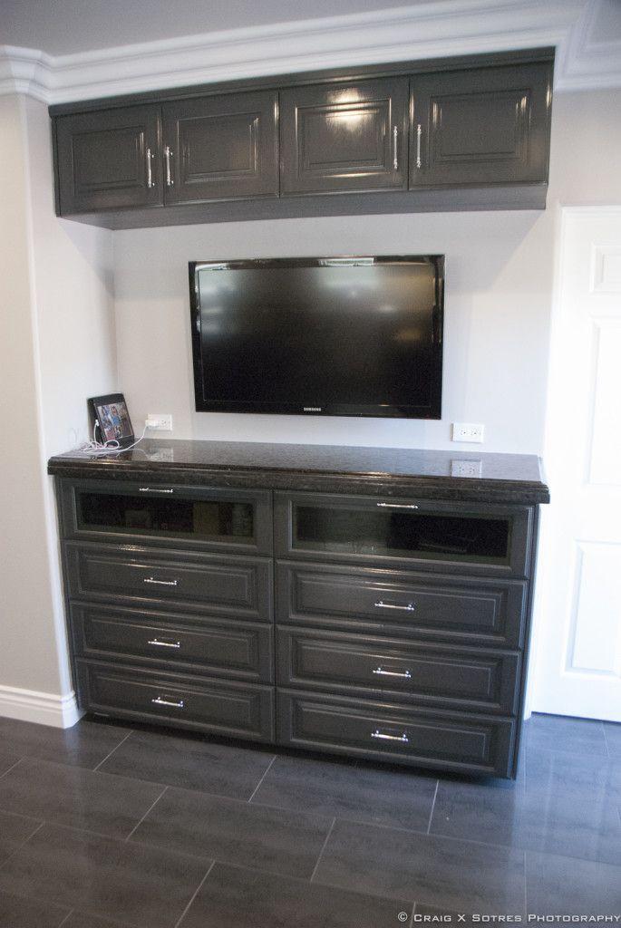 kitchen entertainment console