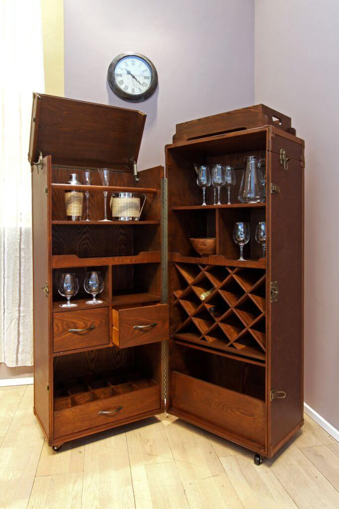 Custom Wine Storage Cabinets